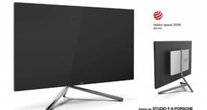Stylowe monitory 4K i QHD od  Studio F. A. Porsche oraz AOC