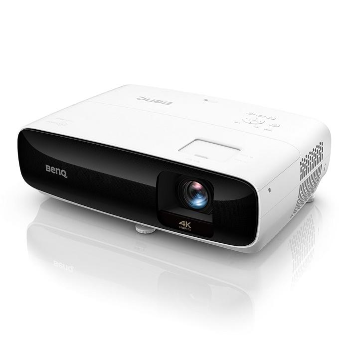 """BenQ TK810 – domowy """"smart"""" projektor 4K HDR z bezprzewodowym streamingiem 2,4/5GHz i jasnością 3200 ANSI lumenów"""