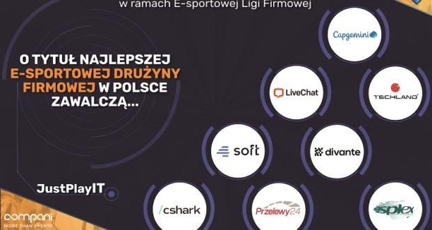 O tytuł najlepszej e-sportowej drużyny firmowej w Polsce zawalczy 8 drużyn
