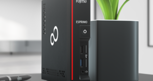 Dzielny maluch: komputer Fujitsu Esprimo G558