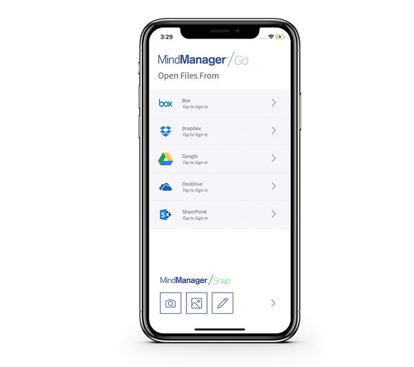 Oprogramowanie MindManager 2020 łączy ludzi, dane i platformy