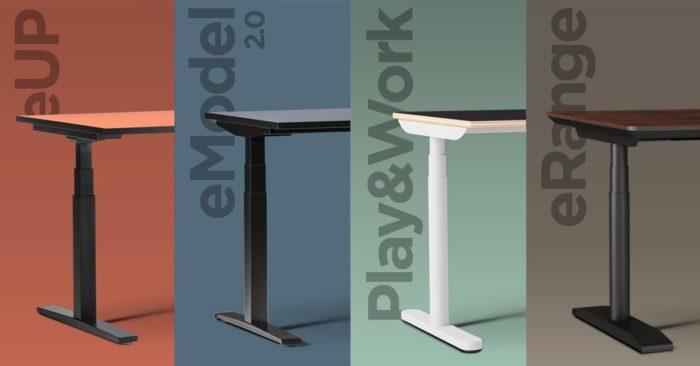 eHAT – biurka, które poruszają