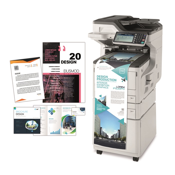 Inteligentne urządzenie wielofunkcyjne MC883 o wyjątkowej wydajności drukowania