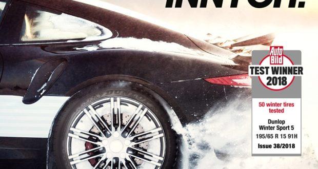 Opony Dunlop Maksymalna Przyczepność Na Zimowe Warunki Modern