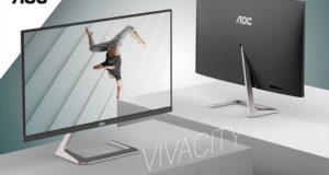 Monitor QHD zaprojektowany przez  Studio F. A. Porsche oraz AOC