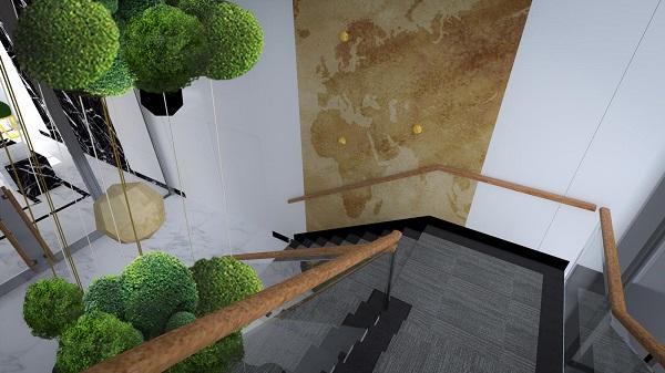 Projektowanie przestrzeni biurowej – trendy