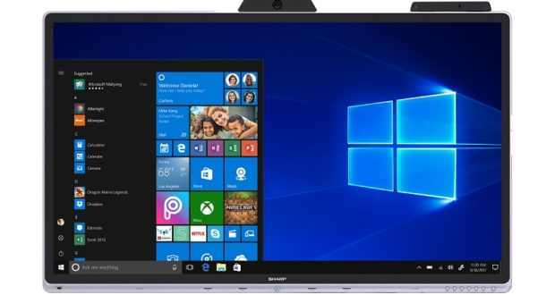 Sharp wprowadza do oferty pierwszy na świecie monitor interaktywny dedykowany do środowiska Windows