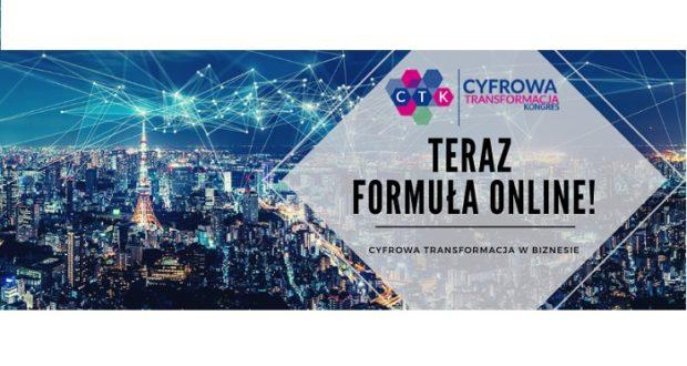 Bezpłatna Konferencja ONLINE – Cyfrowa Transformacja w Biznesie Jak rozpocząć proces zmiany i zadbać o rozwój technologiczny firmy?