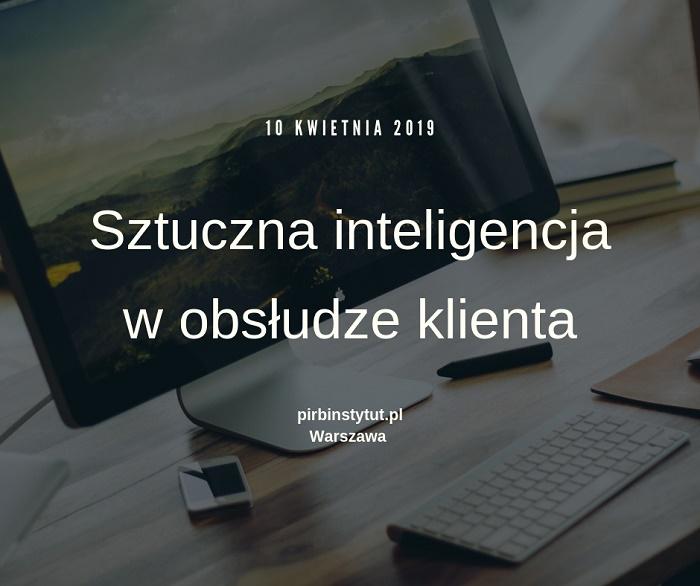 Sztuczna inteligencja w obsłudze klienta