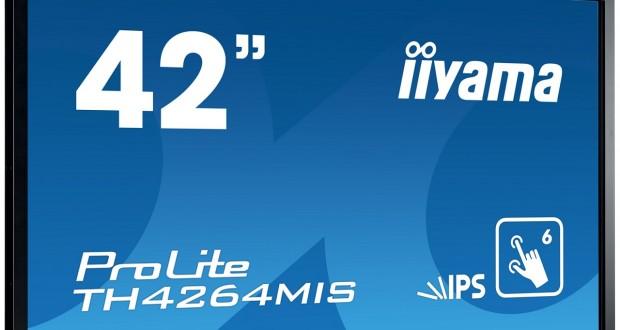 """Iiyama wprowadza na polski rynek 42"""" dotykowy ekran TH4264MIS"""