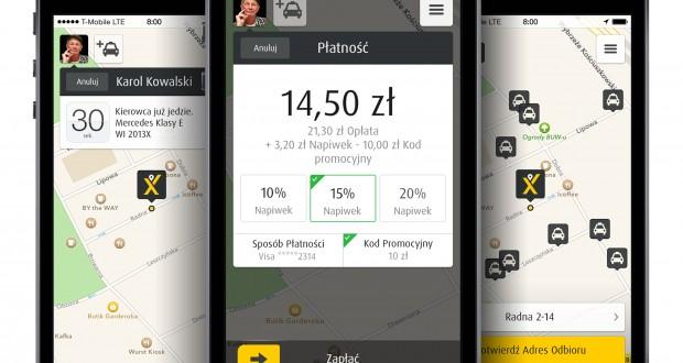 Do taksówki – bez gotówki