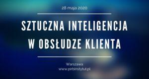 """Konferencja """"Sztuczna inteligencja w obsłudze klienta"""""""