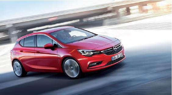 Jakościowy skok Opla w klasie kompaktowej: nowy Opel Astra