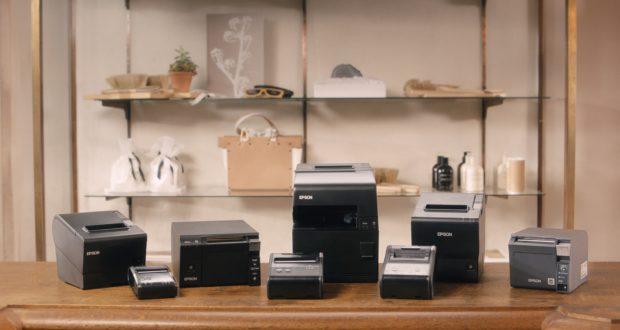 Firma Epson przedstawia nową, kompaktową drukarkę do druku paragonów i obsługi czeków dla sklepów i punktów handlowych.